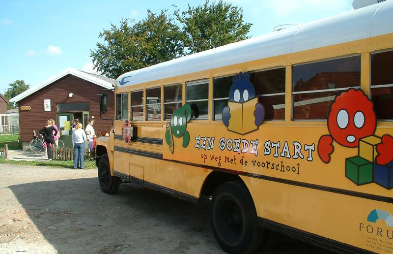 Hummelterp-schoolbus